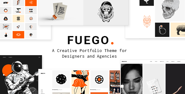Fuego Wordpress Theme