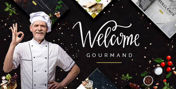 Gourmand Wordpress Theme