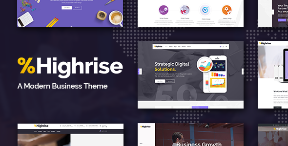 Highrise - Business, Corporation and Consulting Company Theme
