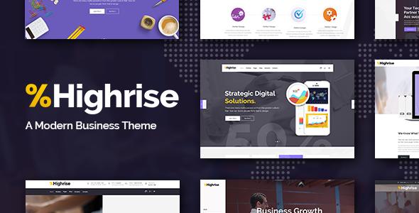 Highrise Wordpress Theme