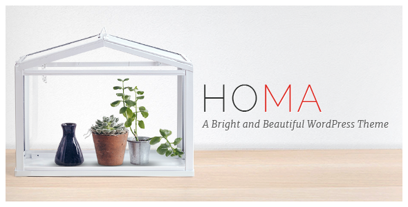 Homa Wordpress Theme