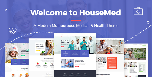 HouseMed Wordpress Theme