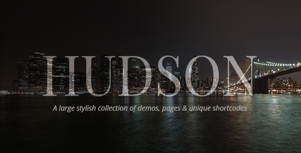 Hudson - Stylish Business Theme