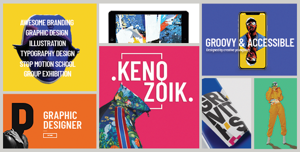 Kenozoik Wordpress Theme