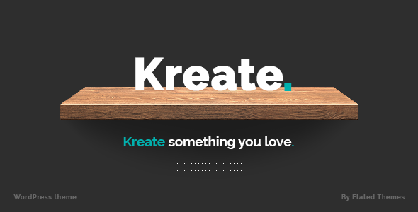 Kreate Wordpress Theme