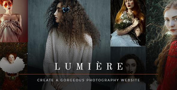Lumière Wordpress Theme