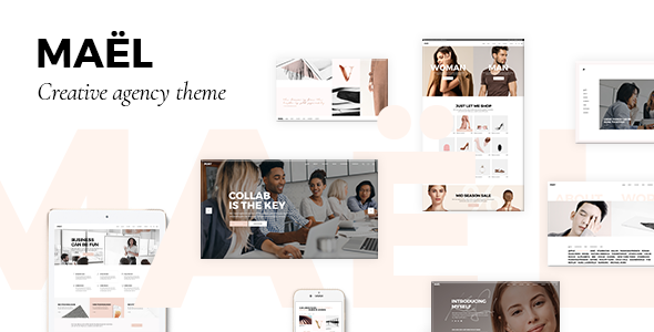 Maël - Modern Creative Agency Theme