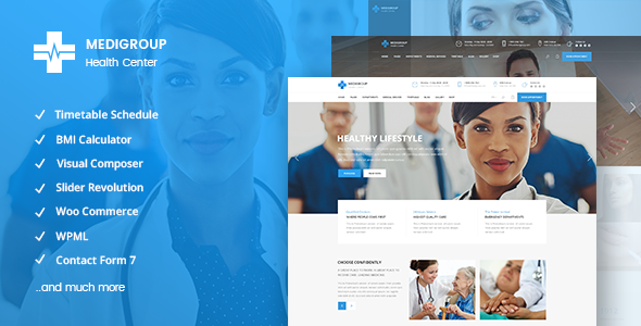 Medigroup Wordpress Theme