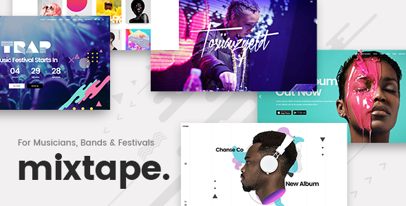 Mixtape Wordpress Theme