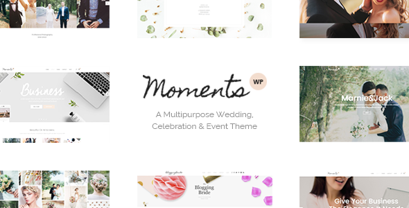 Moments Wordpress Theme