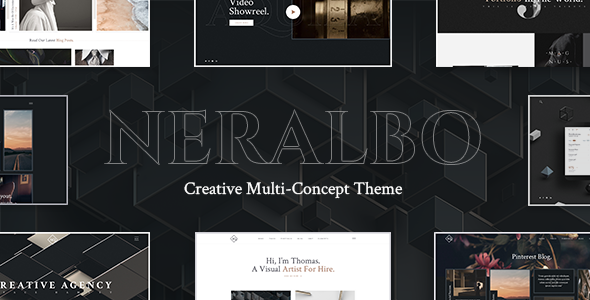 Neralbo Wordpress Theme