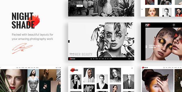 Nightshade Wordpress Theme