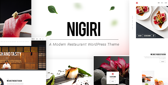 Nigiri Wordpress Theme
