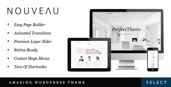 Nouveau Wordpress Theme