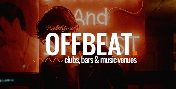 Offbeat Wordpress Theme