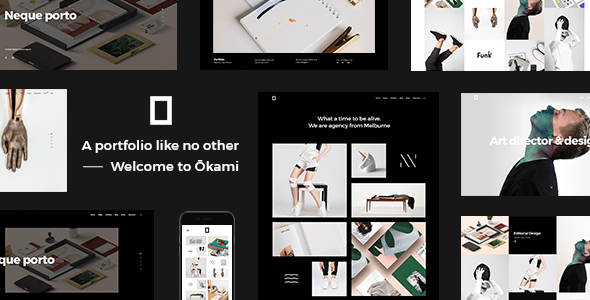 Okami Wordpress Theme