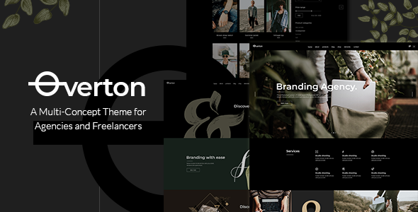 Overton Wordpress Theme