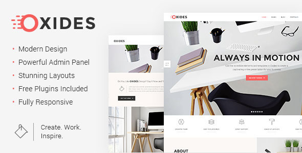 Oxides Wordpress Theme