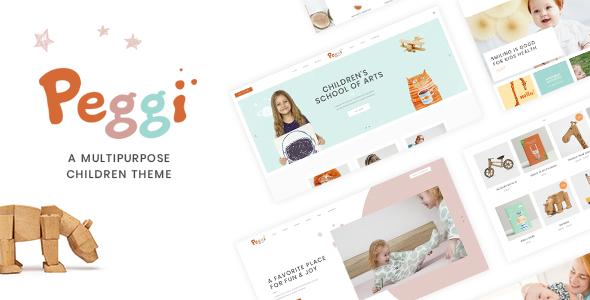 Peggi Wordpress Theme