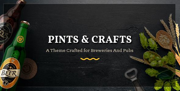 Pints&Crafts Wordpress Theme