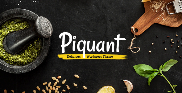Piquant Wordpress Theme