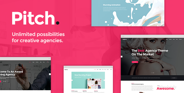Pitch Wordpress Theme