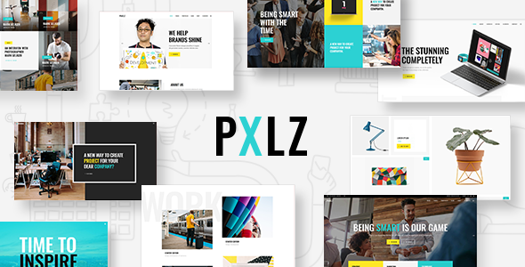 Pxlz Wordpress Theme