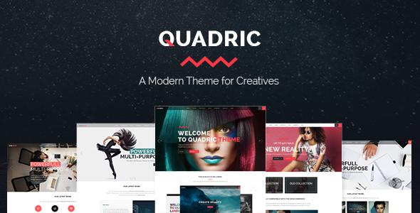 Quadric Wordpress Theme