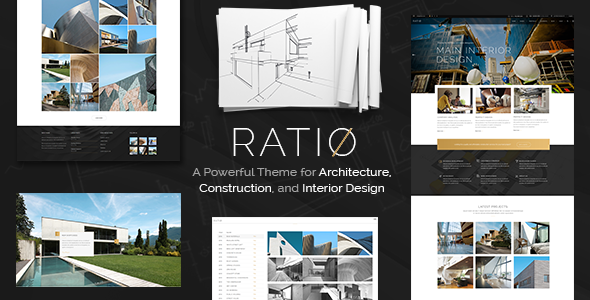 Ratio Wordpress Theme