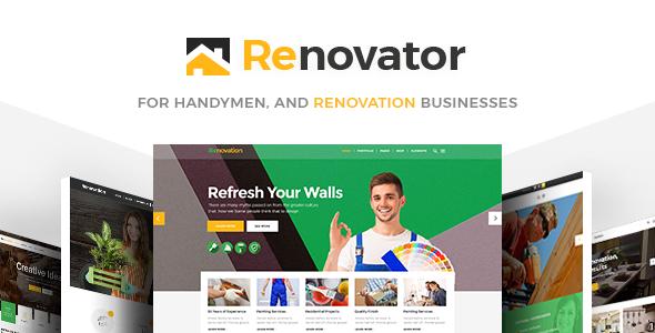 Renovator Wordpress Theme