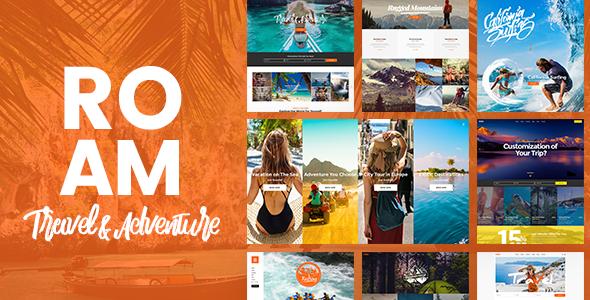 Roam Wordpress Theme
