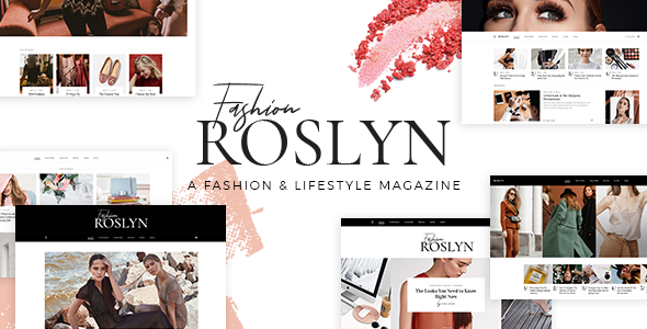 Roslyn Wordpress Theme