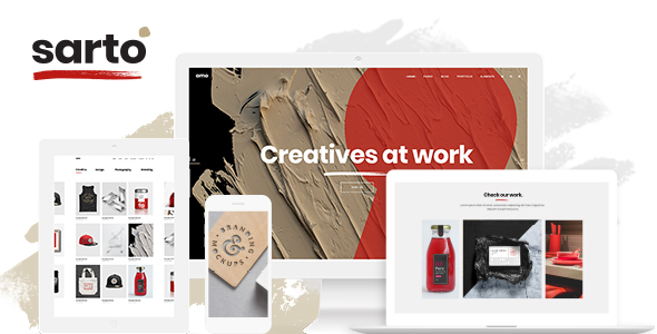 Sarto Wordpress Theme