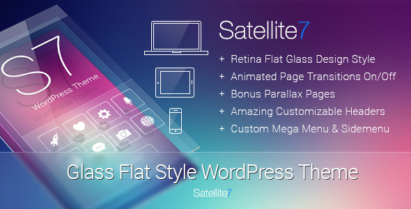 Satellite7 Wordpress Theme