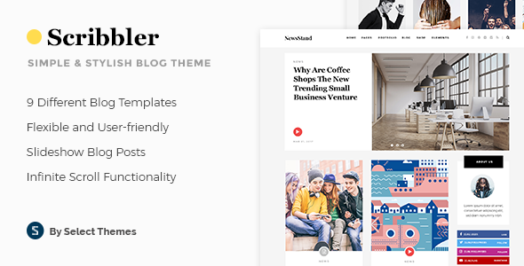 Scribbler Wordpress Theme