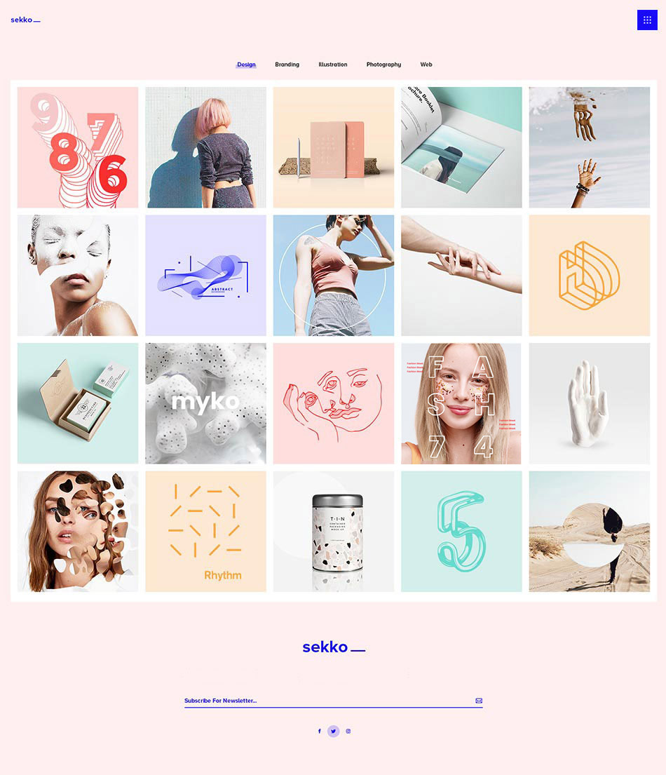 Sekko Wordpress Theme