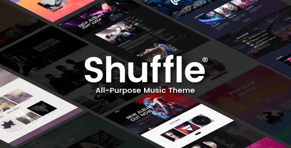 Shuffle Wordpress Theme