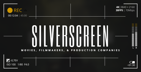Silverscreen Wordpress Theme