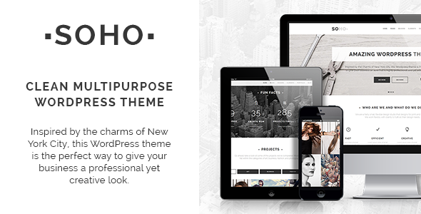 Soho - Clean Multipurpose Theme