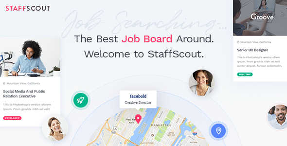 StaffScout Wordpress Theme