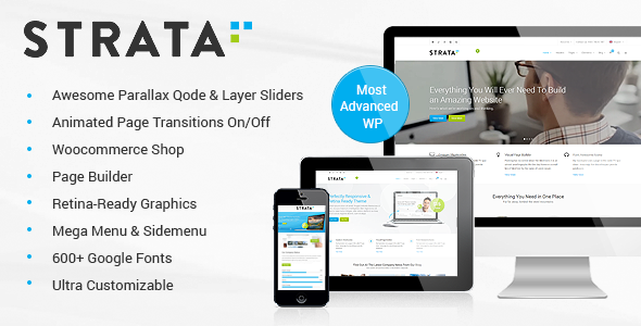 Strata Wordpress Theme