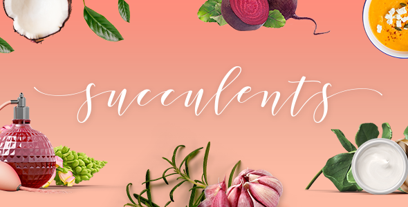 Succulents Wordpress Theme