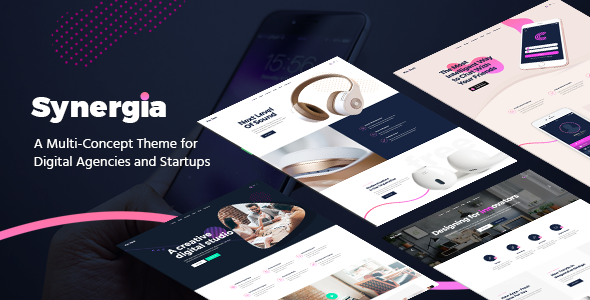 Synergia Wordpress Theme