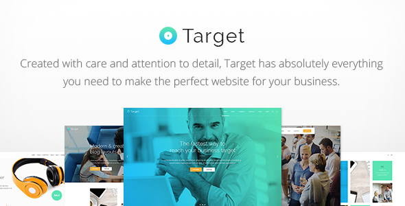 Target - Business WordPress Theme