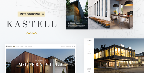 Kastell Wordpress Theme