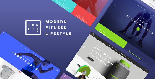 TopFit Wordpress Theme