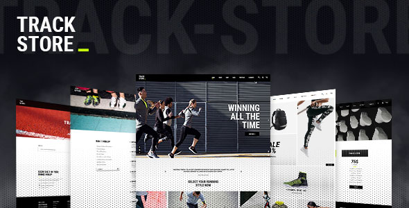 TrackStore Wordpress Theme