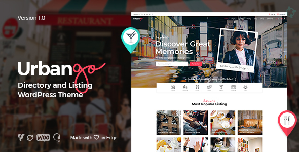UrbanGo Wordpress Theme