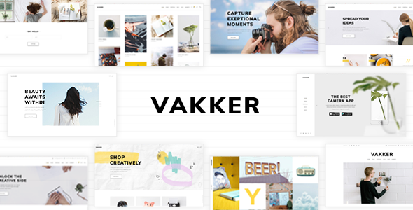 Vakker Wordpress Theme