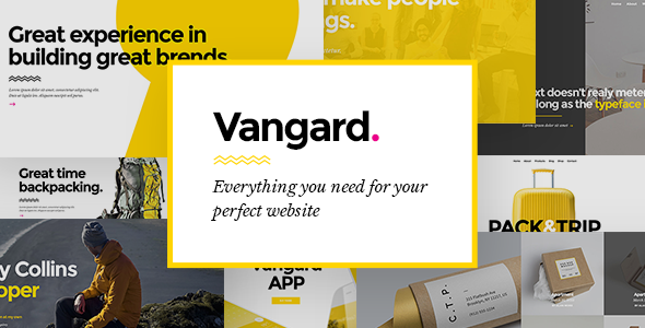 Vangard Wordpress Theme